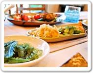 ペンション沖縄の家庭料理
