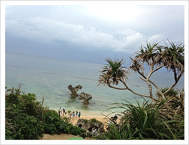 沖縄北部の古宇利島