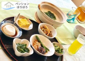 沖縄おじや朝食